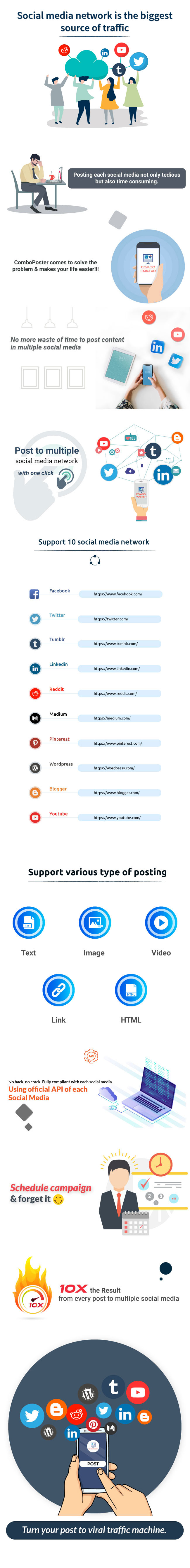 ComboPoster - A FB Inboxer Add-on : Complete Social Media Bulk Auto Poster (10 Social Media) - 5