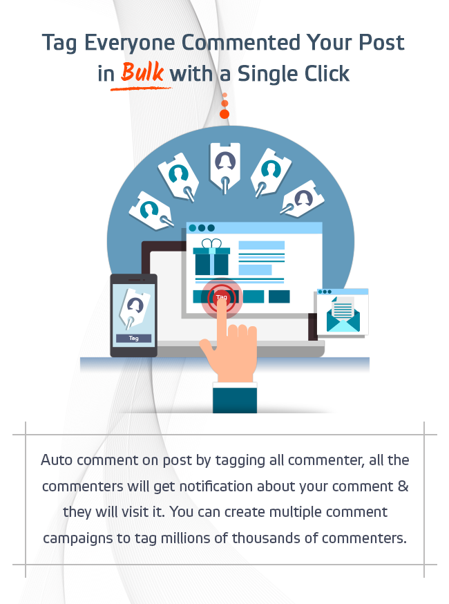 CommentTag Machine - A EZ Inboxer Add-on for tagging post commenters of Facebook Pages - 11