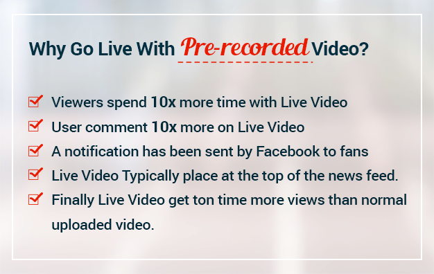 VidCasterLive - Facebook Live Streaming With Pre-recorded Video - 10