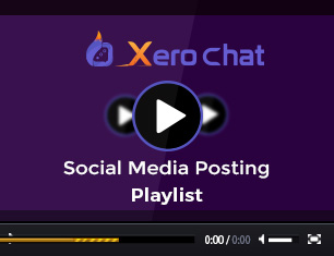 XeroChat - Facebook Chatbot, eCommerce & Social Media Management Tool (SaaS) - 36