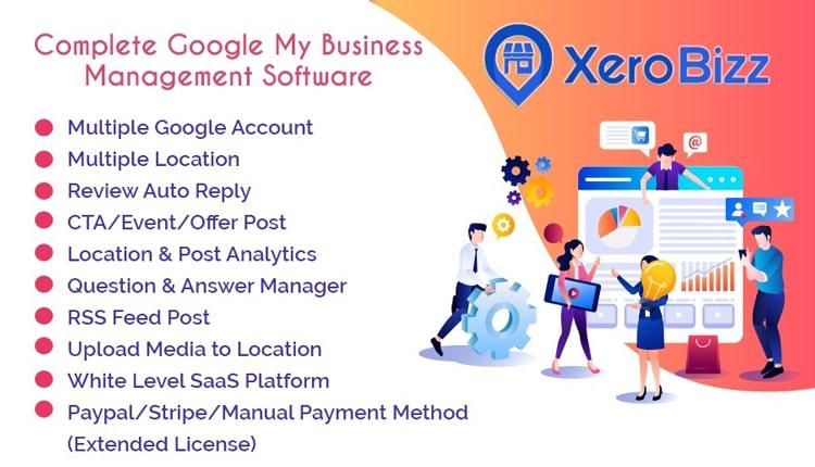 XeroBizz - Complete Google My Business Management Software (SaaS Platform)