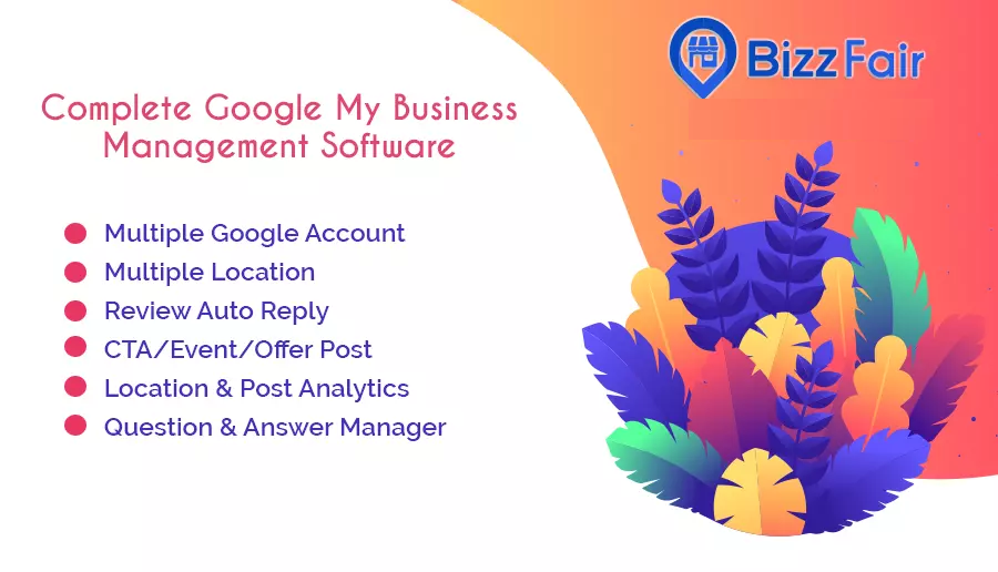 BizzFair - Complete Google My Business Management Software (SaaS Platform)