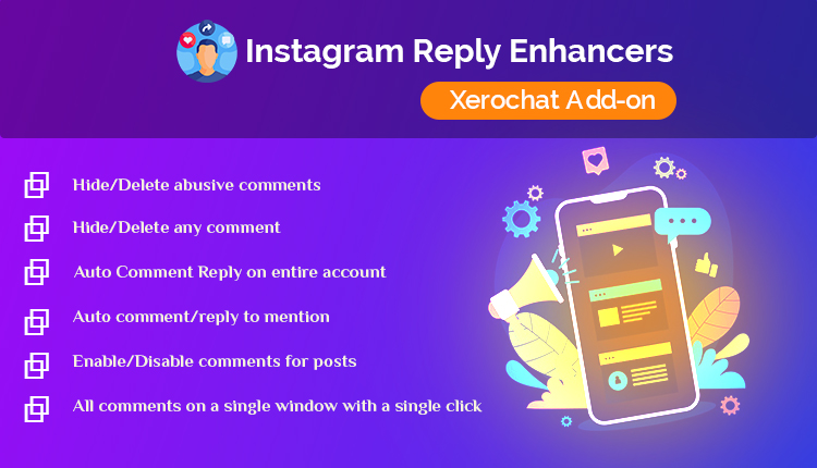 Instagram Reply Enhancers : A XeroChat Add-on