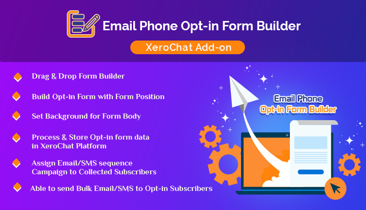 Email/Phone Opt-in Form Builder
